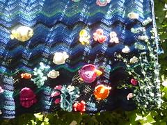 Under the Sea Crochet Blanket (Vecilija's Corner) Tags: ocean fish fishing jellyfish handmade dolphin crochet adorable cotton gift blanket afghan octopus summertime crabs belgrade seaworld birthdaygift seacreature underthesea heklanje