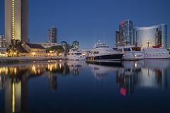 Seaport Village (George_Adkins) Tags: sunset boat sandiego yacht downtownsandiego sandiegoharbor embarcaderomarinapark