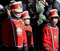 Chinese New Years Day in Chinatown, NYC (Clara Ungaretti) Tags: street nyc newyorkcity red urban usa sunlight ny newyork festival kids america lights monkey us chinatown unitedstates manhattan unitedstatesofamerica chinese culture streetphotography lifestyle sunny streetlife celebration northamerica uniforms states lowermanhattan chinesenewyears sunnyday estadosunidos novayork estadosunidosdaamrica