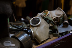 Gas Masks (dmoranphotog) Tags: neworleans nola gasmasks lowerquarter springbreak2016