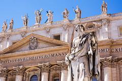 Vatikaani (Seppo Paakkanen) Tags: italy vatican rome roma italia stpeter rooma vatikaani pietarinkirkko