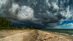 Stormy Pano (Explored 07.17.2016) (DonMiller_ToGo) Tags: sky panorama nature weather clouds outdoors florida stormy panoramic thunderstorm explored d5500 panoimages6