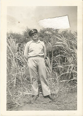 Scan_20160716 (13) (janetdmorris) Tags: world family 2 history monochrome century america vintage army hawaii us war pacific military wwii grandfather monochromatic front 1940s ii ww2 granddaddy forties 20th usarmy allies allied