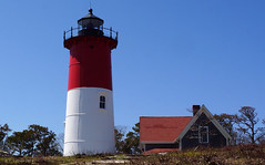Nauset Lighthouse, USA, Massachusetts, Cape Cod (panoround hutter) Tags: beach capecod capecodnationalseashore lighthouse nauset nausetlight seashore vacation hopper mare hutter hutterdesign panoroundhutter