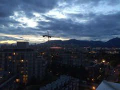 IMG_2532 (Sweet One) Tags: sunset dusk vancouver bc britishcolumbia canada myapartment view rooftop