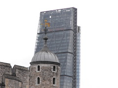 """The """"Cheese Grater"""" From The Tower (thezaremypics) Tags: london skyscrapper england cheesegrater"""