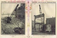 Link-Belt (Runabout63) Tags: link belt crawler crane construction machinery