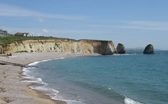 Beach at Freshwater Bay (cohodas208c) Tags: beach cliffs shore isleofwight englishchannel freshwaterbay