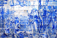 Painel de azulejos na Igreja de Nosso Senhor do Bonfim (marcusviniciusdelimaoliveira) Tags: igreja bahia salvador painel azulejos baslica senhordobonfim azulejaria