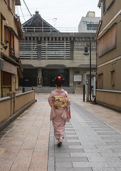 16 Years old maiko called chikasaya walking in the streets of gion, Kansai region, Kyoto, Japan (Eric Lafforgue) Tags: street woman white cute beautiful beauty face japan vertical female hair asian japanese clothing eyes kyoto colorful asia pretty feminine painted traditional young culture makeup style grace teen maiko geisha teenager kimono gion rearview tradition fullframe oriental youngadult solitary hairstyle youngwoman apprentice sparse oneperson elaborate feminity kanzashi 1617years oneyoungwomanonly 1people kansairegion japaneseethnicity colourpicture japan161679 chikasaya komayaokiya