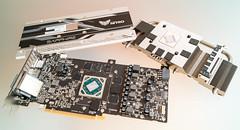 AMD@14nm@GCN_4th_gen@Polaris_10@Radeon_RX_470@1622_M60J5.0A_215-0876204___DSC04275 (FritzchensFritz) Tags: macro makro amd radeon rx 470 480 polaris 10 gcn 4th gen 14nm gpu core heatspreader die shot gpupackage package processor prozessor gpudie dieshots dieshot waferdie wafer wafershot vintage open cracked