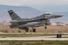 F-16C Fighting Falcon, Turkish Air Force, Exercise Anatolian Eagle 2016, Turkey (harrison-green) Tags: f16c fighting falcon turkish air force anatolian eagle 2016 turkey f16 pakistan aircraft aviation nato jet canon eos 700d sigma 150500mm vehicle outdoor airplane airliner pakistani