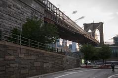 Brooklyn Bridge in DUMBO (shepalex) Tags: brooklyn brooklynbridge dumbo dumbobrooklyn dumbonewyork    newyork ny nyc newyorkcity   nuevoyork nuevayork    bridges bridge