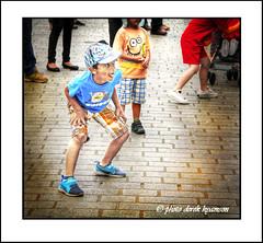IMG_1593 DANCER (Derek Hyamson) Tags: candid hdr boy dancing intercitybluesband liverpool