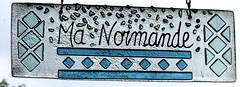 Veules-les-Roses  - Ma Normande (Philippe Aubry) Tags: normandie seinemaritime paysdecaux ctedalbtre villa manormande pancarte