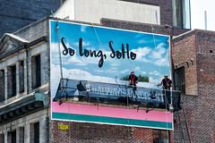 Bermuda Tourism (Always Hand Paint) Tags: travel tourism advertising mural colorful outdoor ooh handpaint colossal wallscape m135 colossalmedia muraladvertising bermudatourism skyhighmurals alwayshandpaint kristalindahl bermudatourismprogress