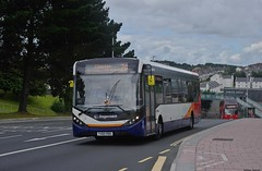 One-Off Standards (Better Living Through Chemistry37) Tags: buses transport vehicles vehicle publictransport stagecoach 2a psv 26038 alexanderdennis stagecoachdevon enviro200 busesuk e20d stagecoachsouthwest busessouthwest saltashroad enviro200mmc e200mmc yx65rdu
