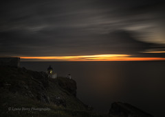 GUIDING ANGEL (lynneberry57) Tags: longexposure sea sky sun seascape colour nature water beauty clouds sunrise canon landscape coast scotland darkness 70d leefilters stabbsheadlighthouse