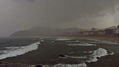 Biskaya (kadege59) Tags: sea espaa seascape storm nature wow spain europa europe vasco euskalherria euskadi spanien baskenland zarautz zarauz bayofbiscay biskaya golfedegascogne golfodevizcaya bizkaikogolkoa