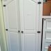 Corona white 2 door wardrobe