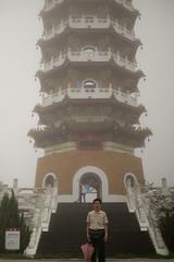 DSCF3344 (Chee Kweng Teoh) Tags: nantou sun moon lake cien pagoda