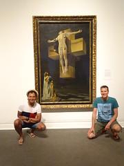 New York '16 (faun070) Tags: themet dutchguys painting salvadordali crucifixion 1954