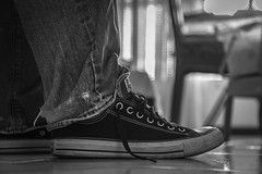 Life is too short to wear boring shoes.... (Just lovin' it) Tags: converse shoe chucks
