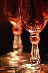 ABit Of Bubbles (Caroline.32) Tags: macromondays macro mirror cordial glass shotglass wine reflection red sparkling nikond3200 18140mm extensiontube20mm