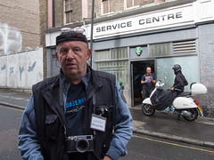 London Street Photography Symposium - the legendary Monty May (cjcrosland) Tags: londonmonty maystreet photography symposium
