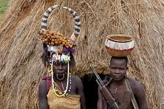 Mursi women (6) (Prof. Mortel) Tags: ethiopia omovalley mursi