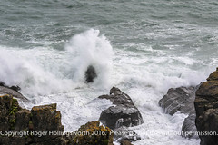 Breaking Water (doublejeopardy) Tags: rock gale storm thelizard mist sea surf water whitewater cornwall places waves lizard england unitedkingdom gb