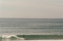 Surfing Lawrencetown (Francis Tetreault) Tags: surf longboard sea 35mm x700