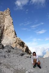 Osefina, Sassolungo. Dolomiti (Giorgio Pongiluppi) Tags: dolomiti sassolungo alpi montagna alps