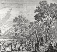 Phillip Medhurst presents John's Gospel: Bowyer Bible print 5279 The testimony of John the Baptist John 1:19-28 Kraussen (Phillip Medhurst) Tags: john johnsgospel gospelaccordingtojohn gospel jesus christ jesuschrist bowyerbible bible bibleillustration kraussen johnthebaptist