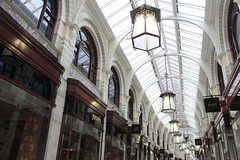 Royal Arcade (richardr) Tags: eastanglia norfolk norwich building architecture england english britain british greatbritain uk unitedkingdom europe european history heritage historic old royalarcade arcade georgeskipper victorianarchitecture victorian victoriana 19thcentury nineteenthcentury corridor lamps shops commercial retail