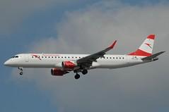 OE-LWK (LIAM J McMANUS) Tags: oelwk austrianairlines austrian os aua embraer e195 e95 embraer195 manchester man egcc austriancom