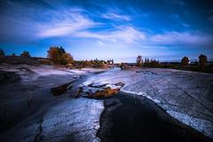 Puuttuva kuva (Nuutti N.) Tags: naturelovers nature finland authentic exklusive longexpoelite moody artofvisuals tones rocks landscape samyang nikon foreground sunset evening bluemoment skyscape