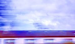 Speed (Steve-h) Tags: abstract longexposure 1second slowshuttercam clouds building roof tiles windows motionblur dublinbus rathmines dublin ireland europe colour colours red maroon blue white grey digital exposure apple iphone 6s experiment test steveh autumn september 2016