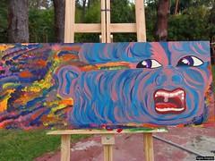 """Desaparecieron"" (fragariart) Tags: art argentina photography photo buenosaires arte paintings colores pinturas pinamar fragaria fragariart"
