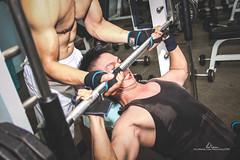 IMG_5298 (LeNam- Call me: 84979972301) Tags: man training chest bodybuilding gym amateur partner saigonese