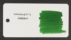 Noodler's Green - Word Card