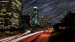 SkyglowProject.com 6 (Sunchaser Pictures) Tags: longexposure urban night stars losangeles timelapse cool surreal astrophotography pollution environment nightsky psychedelic startrails lightpollution skyglow kickstarter