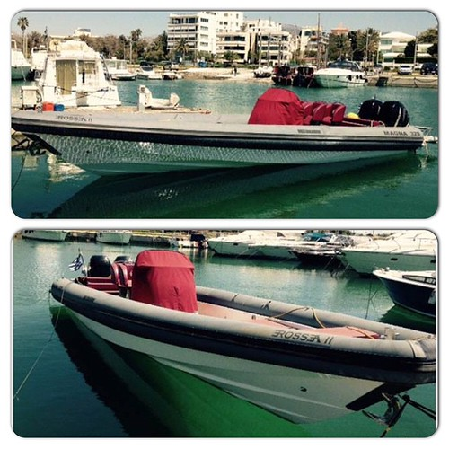 Motomarine Magna 32 based in Athens! Size in meters : 10 Model : 2010 Max Persons : 10