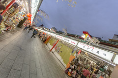 Nakamise Shopping Street - Tokyo (IQRemix) Tags: travel japan canon temple sensoji japanese tokyo shops   asakusa kannon 2015     nakamiseshoppingstreet