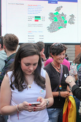 Results: Marriage Referendum: In The Upper Yard, Dublin Castle (Skyroad) Tags: