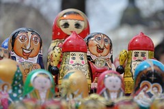 Cute (Thorsten Reiprich) Tags: city urban travelling spring europe dolls day market capital eu bulgaria matryoshka