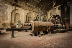 """Steam Punk"" (UKGh0sT) Tags: steam punk decay mines urbex machine ukgh0st"