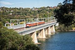 Bridging the Gap (SJB Rail) Tags: f1 sydney trains railways railroads electric historic traction
