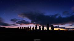 Ahu Tongariki at first light. (Graham Gilmore | PHOTOGRAPHY) Tags: ahutongariki easterisland chile isladepascua sunrise canon 5dmkiii rapanui moai ahu clouds color tongariki longexposure easter island