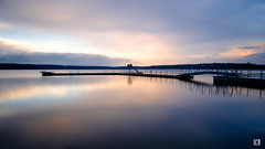 (lotl.axo) Tags: longexposure sunset lake nature water reflections germany landscape deutschland see wasser sonnenuntergang sundown natur landschaft steg langzeitbelichtung mecklenburgvorpommern spiegelungen travelphotography reisefotografie warin bootsanleger mecklenburgischeseenplatte warinersee